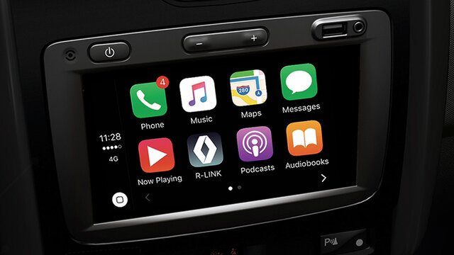 renault oroch sistema multimedia media nav evolution