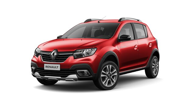 renault stepway color rojo fuego