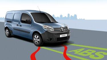 Renault KANGOO Z.E. sistema de frenos abs