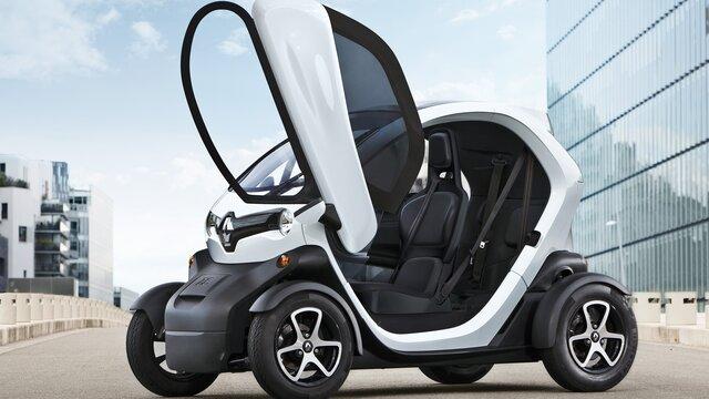 Renault TWIZY Diseño exterior