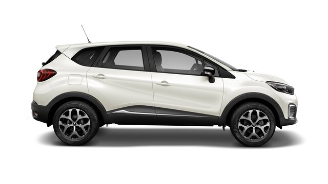 renault captur color blanco marfil