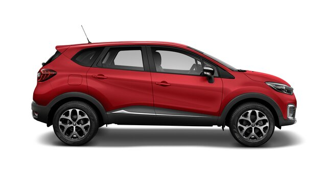 renault captur color rojo fuego