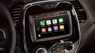 renault captur sistema multimedia