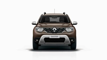 DUSTER - Dimensiones frontales