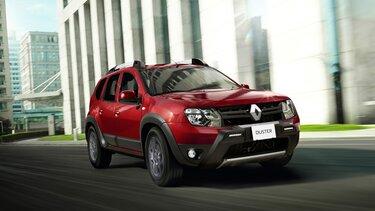 Renault DUSTER - Ficha técnica