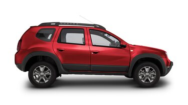 renault duster color rojo fuego