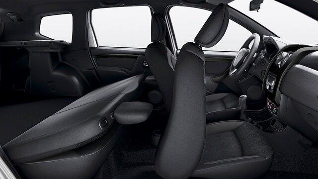 renault duster  Confort para los pasajeros en la parte trasera