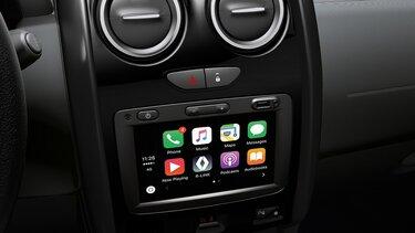renault duster pantalla táctil con sistema Media Evolution y Smartphone Replication