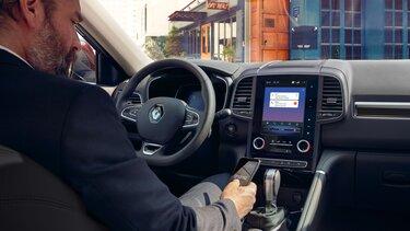 renault koleos diseño interior conduccion