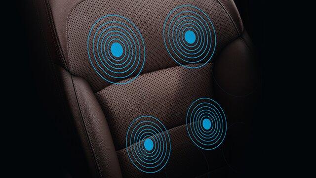 renault koleos configuración de asientos