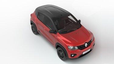 Renault KWID - diseño Vista arriba