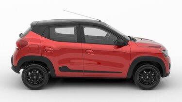 Renault KWID - diseño  Vista lateral