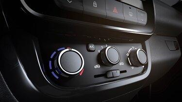 Renault KWID - Interior - Sistema de aire acondicionado