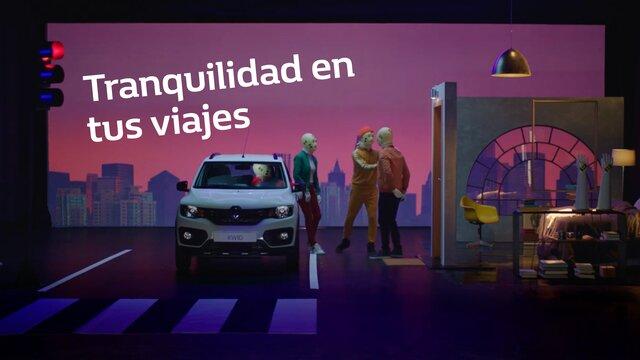 Renault KWID diseño interior seguridad