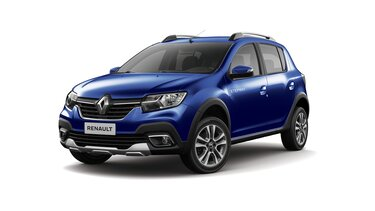 renault stepway blue iron