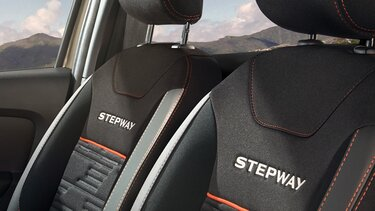 renault stepway asientos comodos con vestiduras
