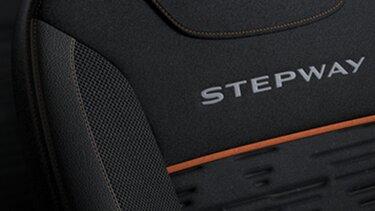 Renault Stepway diseño interior asientos con vestiduras