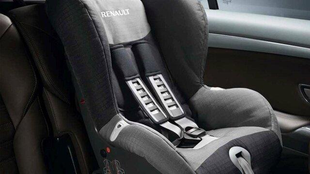 Renault DUSTER accesorios silla para bebe
