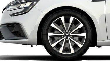 Renault Megane Estate velgen wielen monthlery