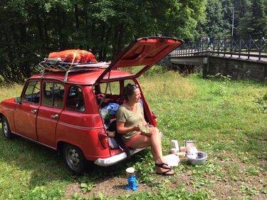 Renault roadtrip kamperen