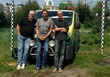 Vrienden Renault Trafic roadtrip