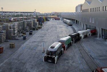 Renault ez pro concept cars pods