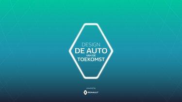 design de auto van de toekomst logo