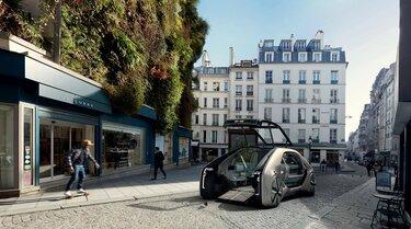 Renault EZ-GO robotauto concept car deur open
