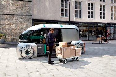 Renault ez pro bezorging conceptcar