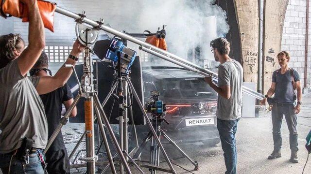Renault culinaire proefrit achter de schermen op de set
