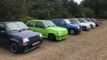 Renault 5 gt turbo evenement