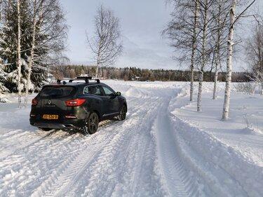 Renault KADJAR naar de noordkaap heenweg