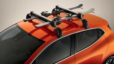 Set: Renault dakdrakers en skidrager
