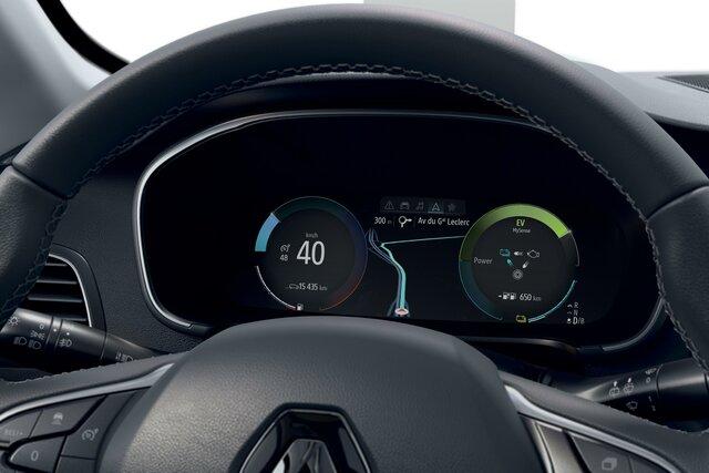 Renault MEGANE Business stuurwiel dashboard