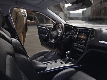 Renault MEGANE Business binnenkant interieur