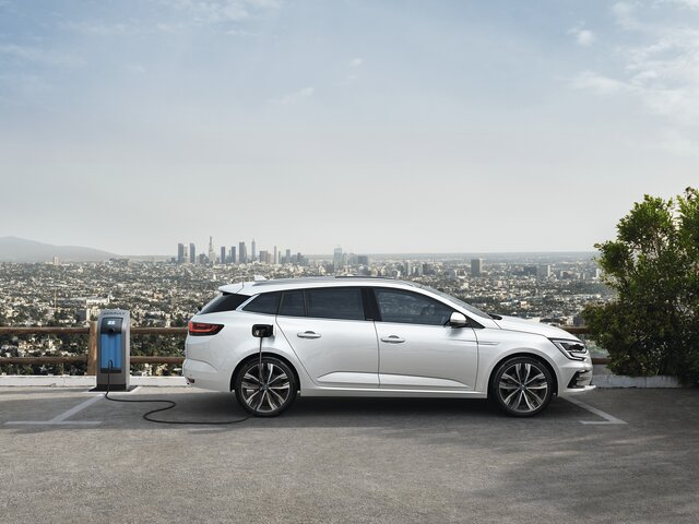 Nieuwe Renault MEGANE Estate Business Plug-in Hybrid