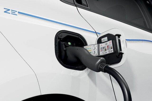 Renault TWINGO Electric opladen laadstekker