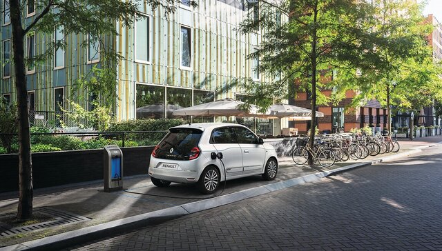 TWINGO Z.E. - elektrische stadsauto, technische gegevens