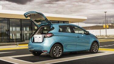 Renault ZOE Cargo Elektrisch open achterdeur