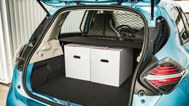 Renault ZOE Cargo Elektrisch dozen ingeladen