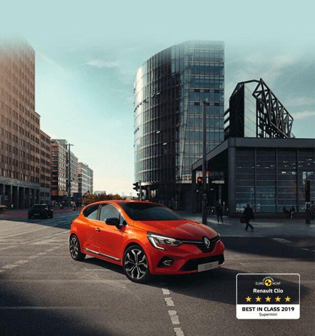 CLIO stadsauto oranje