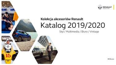 Okładka katalogu nowej kolekcji Renault