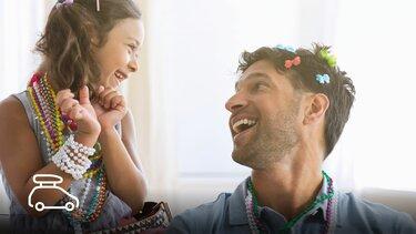 córka i ojciec
