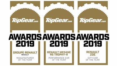 Top Gear awards 2019