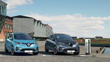Renault ZOE elektryczny miejski samochód