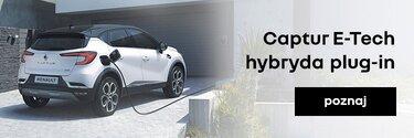 Poznaj Captur E-Tech hybrydowy plug-in
