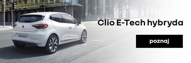 Poznaj Clio E-Tech hybrydowe