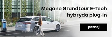 Poznaj Megane Grandtour E-Tech hybrydowy plug-in
