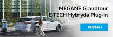 Poznaj MEGANE Grandtour E-TECH Plug-in Hybrid