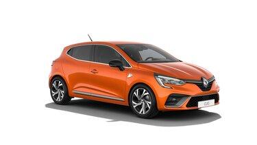 Nowe Renault Clio z boku